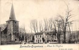 Hermalle-Argenteau - Place De L'Eglise (animée, Desaix, Café De La Place) - Oupeye