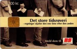 TARJETA TELEFONICA DE DINAMARCA. DD212T,  Bs Tidsroevere 07.01. (104) - Dinamarca