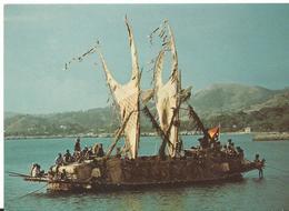 Nouvelle Guinea Lakatoi From  Lea Lea  Village Near Port Moresby - Papouasie-Nouvelle-Guinée