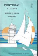 Nautical Chart From Cape S. Vicente To Portimão,Algarve,Portugal.Cape Seekarte Von S. Vicente Nach Portimão.3sc. - Cartes Marines