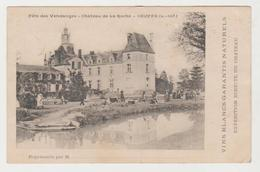 Loire Atlantique COUFFE Fête Des Vendanges Château De La Roche - France