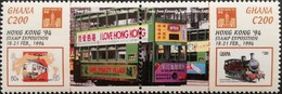 """Ghana Hong Kong """"94 Stamp Exposition POSTAGE FEE TO BE ADDED ON ALL ITEMS - Ghana (1957-...)"""
