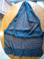 221 - Mantille Noire En Crèpe - Scarves