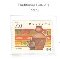 Moldavia PO 1992 Folk Art. Scott.65+See Scan On Scott.Page - Moldavia