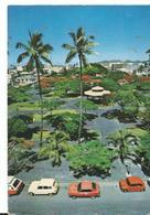 Nouvelle Caledonie  Nouméa La Place Des Cocotiers Voitures - Nouvelle-Calédonie