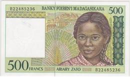 Madagascar - 500 Francs 1994 - UNC - Madagascar
