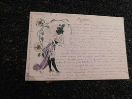 Serie - Pschutt - Style Raphael - Kirchner-femme-au-chapeau-a-fleur   (env1) - Illustrateurs & Photographes