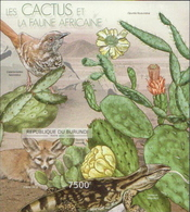 Burundi MNH Cactusses Imperforated SS - Cactusses