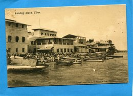TANZANIE-Zanzibar-landing Place Z'bar-animée -années30 - Tanzanie