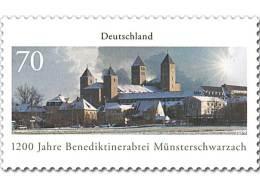2016 Germany - 1200 Jahre Benedektinabtei Münsterschwarzach / 1200 Abbey Of Münsterschwarzach  -1v   MNH** MiNr. 3258 - Klöster