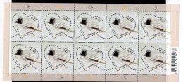 2016 Slovenia - Greeting Stamp / Grüssmarke - Sheetlet Of 10 V Paper - MNH** MiNr. 1182 - Slovénie