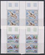 TAAF 1988 Ile Des Pingouins 2v Bl Of 4  ** Mnh (39645M) - Blocs-feuillets