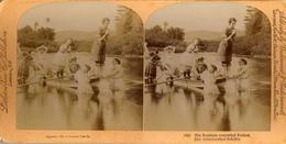 Boatman Somewhat Rattled, Littleton - Photos Stéréoscopiques