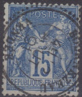 Bournezeau (Vendée) : Cachet à Date Type 25 Sur Sage. - 1877-1920: Période Semi Moderne