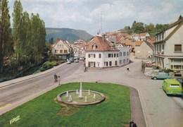 NIEDERBRONN LES BAINS - BAS-RHIN - (67) - CPSM ANIMÉE. - Niederbronn Les Bains