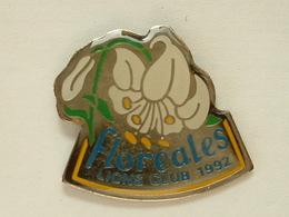 PIN'S FLOREALES LIONS CLUB 1992 - Associazioni