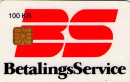 TARJETA TELEFONICA DE DINAMARCA. DD028d, Betalingsservice, 08.95. (114) - Dinamarca