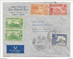 Francobolli Etiopia   Airmail Da Lucca Ad Addis Abeba   Anno 1959 - Ethiopie
