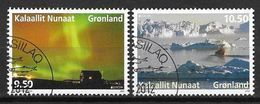 Groënland 2012, N° 594/595 Oblitérés Europa Tourisme - Greenland