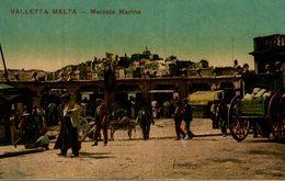 VALLETTA MALTA MERCATO MARINA - Malta