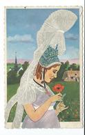 76/ SEINE MARITIME...Cauchoise De VALMONT.. Illustrateur Charles HOMUALK... COQUELICOT, PAVOT - Valmont