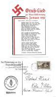 126 - 30 - Carte Envoyée De Saarbrücken 1935 - Deutschland