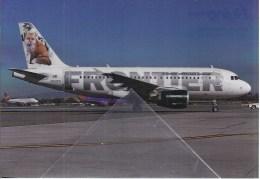 Frontier Airbus A319-111 N922FR At LAX - 1946-....: Era Moderna