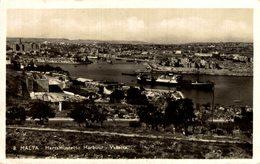 MALTA MARSAMUSCETTO HARBOUR VALLETTA - Malta