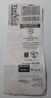 MALTA - VALLETTA  F.C. Vs FUKESI   CHAMPIONS LEAGUE  MATCH TICKET 17 / 07 / 18 - Match Tickets