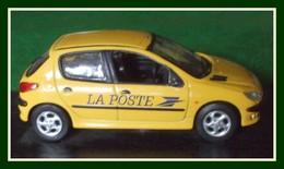Peugeot 206 La Poste 1998 Norev 1/43 (manque Antenne) - Norev