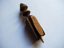 Chapeau -Vannerie - Osier - Rare Ancien Fendoir à Paille Creusois XIX ° Pour Fabrication Chapeau De Paille Art Populaire - Art Populaire