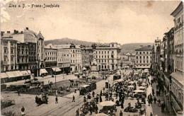 Linz A. D. - Franz-Josefplatz (1087) * Karte Von 1916 - Linz