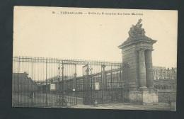 Versailles -  Grille Du 2è Escalier Des Cent Marches   - Zbf83 - Versailles (Kasteel)