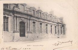 CP , 80 , HAM , Ancienne Abbaye - Ham