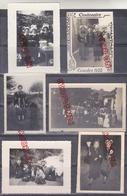 Au Plus Rapide Archive Famille Quimperlé Finistère Coiffe Folklore Bretagne Pèlerinage Lourdes 1958 Religion - Personnes Identifiées