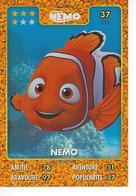 Carte Disney Pixar Auchan 2015  N° 37 Nemo NEMO - Disney
