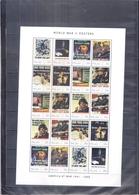 World War II - Propaganda Posters - Palau 2011 - Sheet - XX/MNH ( To See) - Guerre Mondiale (Seconde)