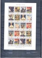 World War II - Propaganda Posters - Tuvalu 2011 - Sheet - XX/MNH ( To See) - Guerre Mondiale (Seconde)