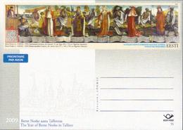 Estland GS 'Revaler Totentanz Von Bernt Notke ' / Estonia P.c. 'Danse Macabre By Bernt Notke' **/MNH 2009 - Christianisme