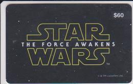 GIFT CARD - AUSTRALIA - EVENT CINEMAS 04. - $60 - STAR WARS - Gift Cards