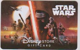 GIFT CARD - UNITED KINGDOM - DISNEY STORE 06. - STAR WARS - Cartes Cadeaux