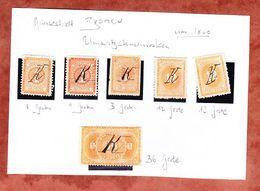 Umsatzsteuermarken, Hansestadt Bremen (54749) - Gebührenstempel, Impoststempel