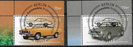 2017 Allem. Fed. Germany , Deutschland  Mi. 3297-8 FD-used Berlin EOL Opel Manta A +  VW Golf Serie 1 - Gebraucht