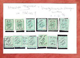 Umsatzsteuermarken, Hansestadt Bremen (54750) - Gebührenstempel, Impoststempel