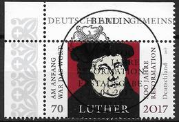 2017 Allem. Fed. Germany , Deutschland  Mi. 3300 FD-used Berlin EOL 500. Jahrestag Der Reformation - Gebraucht