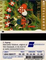 TARJETA TELEFONICA DE DINAMARCA. TDKS033, Christmas 1994, 11.94. CN1044 (097) - Dinamarca