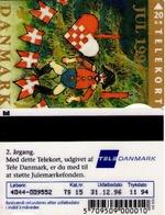 TARJETA TELEFONICA DE DINAMARCA. TDTS015, Christmas 1994, 11.94. CN4044 TIRADA 20000 (098) - Denmark