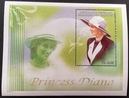 Comoros 1998 Diana Princess Of Wales  S/S - Comoros