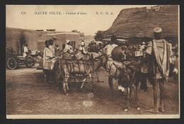 "Haute Volta - Convoi D"" ânes - Burkina Faso"
