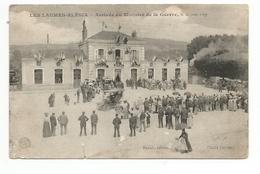 CPA 21 Les Laumes Alesia Arrivee Du Ministre De La Guerre Le 20 Juin 1909 ( - Venarey Les Laumes